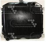 Радиатор водяного охлаждения Волга 24,31029 (3 рядный медь) (производство Иран)