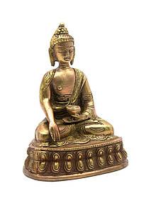 Будда бронза (14,5х11х8,5 см)