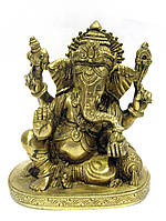 Ганеша бронзовый (Ganesh Sitting BT)