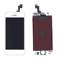 Матрица с тачскрином  для Apple iPhone 5S белый