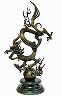"""Статуэтка """"Дракон"""" бронза (80 см)"""