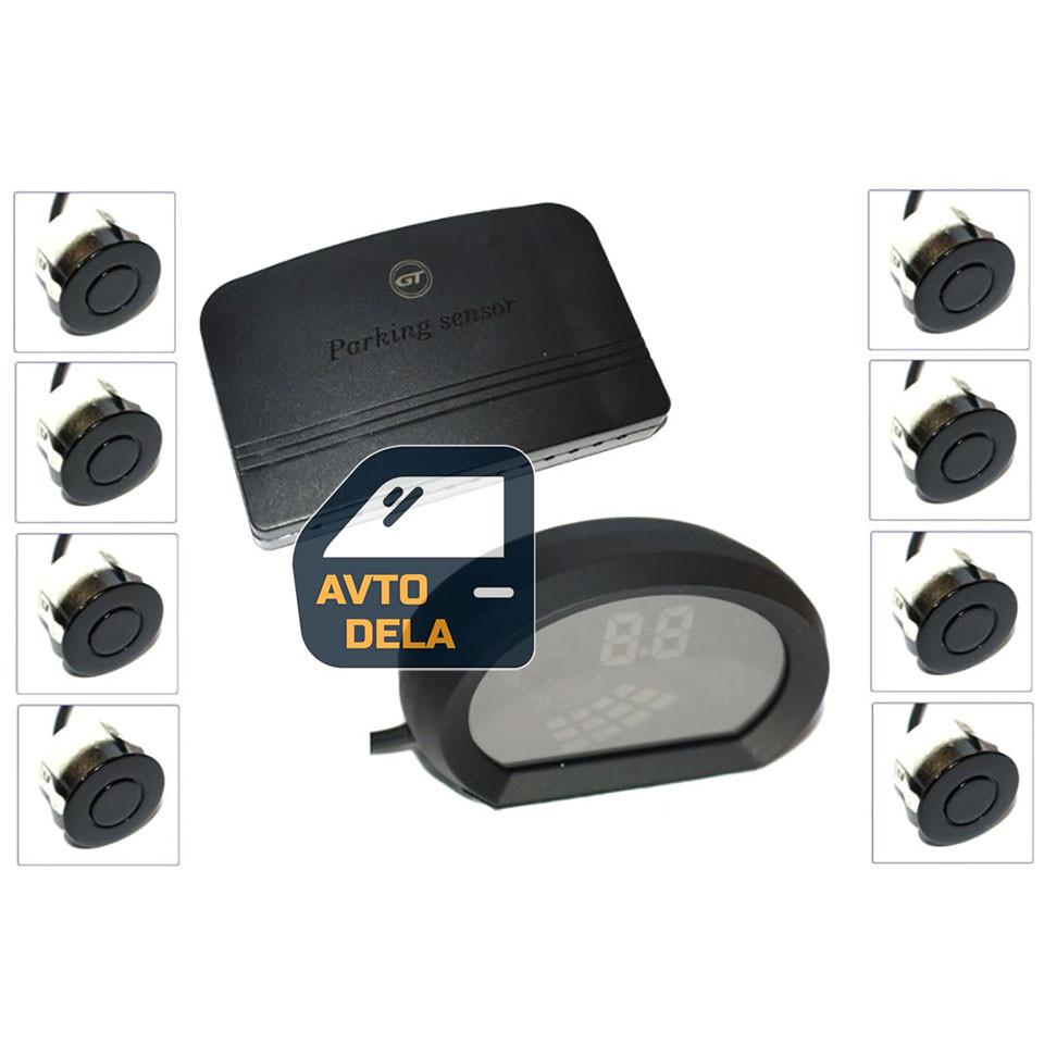 Паркувальний радар GT P Fusion 8 black (P FS8 Black)