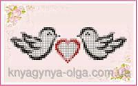 Княгиня Ольга Схема для вышивки бисером Голубки СД-011