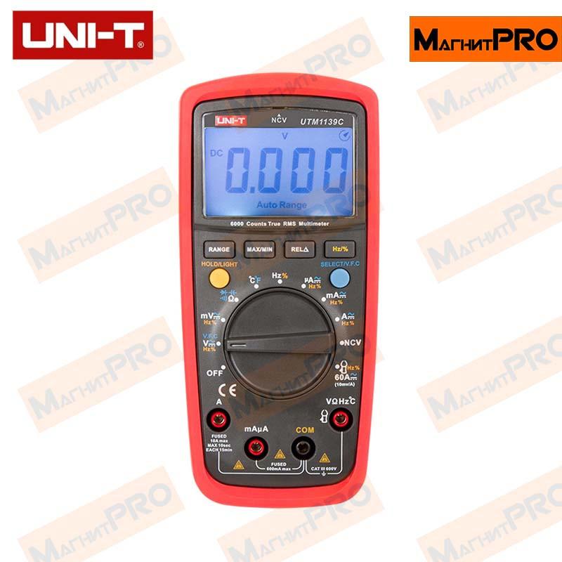 Цифровой мультиметр UNI-T UTM 1139C (UT139C)