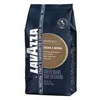 Кава в зернах Lavazza Crema Aroma Esppesso 1кг 80% Арабіка, 20% Робуста (лавацца крем арома експрессо)