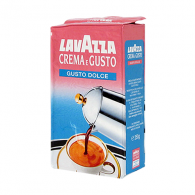 Кава мелена Lavazza Crema e Gusto Delicato 250 гр. (кофе Лавацца )
