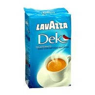 Кофе молотый Lavazza Dek Decaffeinato без кофеина 250 г. (кофе Лавацца , дек)70% робуста, 30% арабика