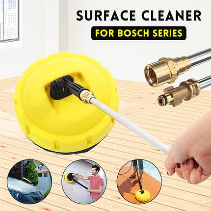 Поворотное поверхностное моечное устройство для очистки поверхности палубы Уборщик пола Машина для очистки поверхности Щетка для пола дл - 1TopShop, фото 2