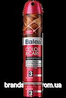 Лак для волос Balea фиксация 3 цвет и уход 300мл (балеа)