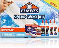 Набор Elmer's для Снежного слайма. Клей Elmer's+активатор+снег. SNOW Slime Kit. Оригинал из США, фото 1