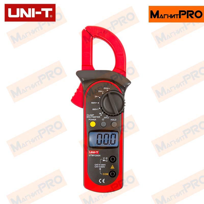 Токоизмерительные клещи UNI-T UTM 1200A (UT200A)