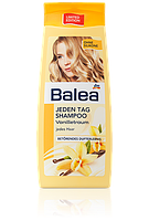Шампунь Balea Ваниль для всех типов волос ежедневный 300мл. делает волосы ярче, эластичней и придают объем