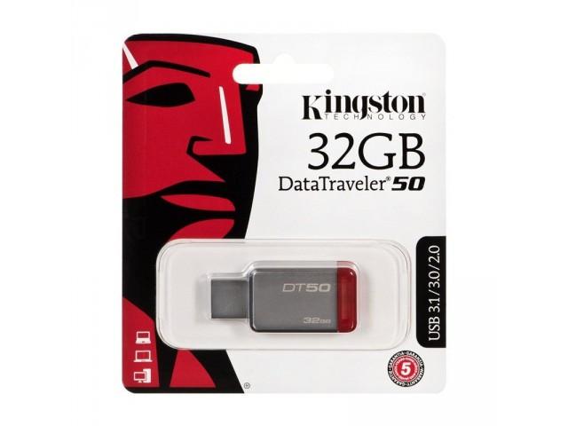 Флеш-карта Kingston DT50 32 Гб *39918