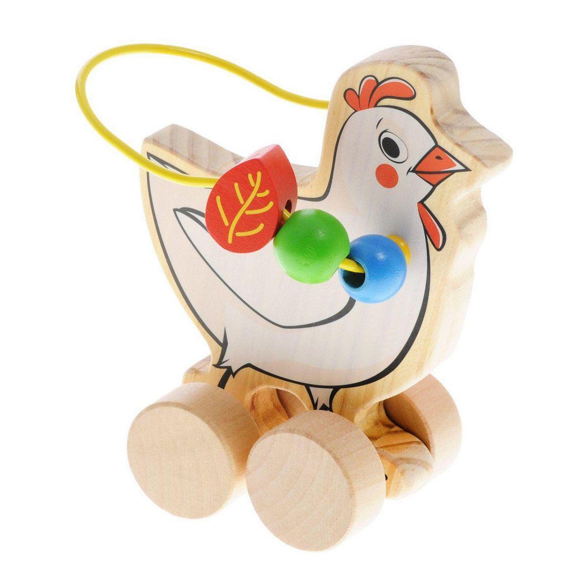 Лабиринт-каталка Курица Д363