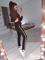 Женский спортивный костюм с кофтой и зауженными штанами tez6605697Q, фото 1