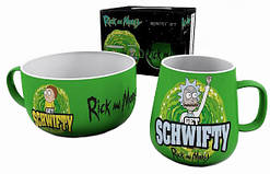 Набор для завтрака GB eye Rick And Morty: Breakfast Set  - Get Schwifty (BS0005)