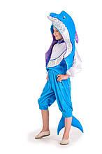 Детский карнавальный костюм Дельфин на рост 110-120 см