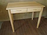 Деревянный стол с ящиками из массива БУКА, фото 3