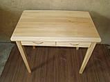 Деревянный стол с ящиками из массива БУКА, фото 4