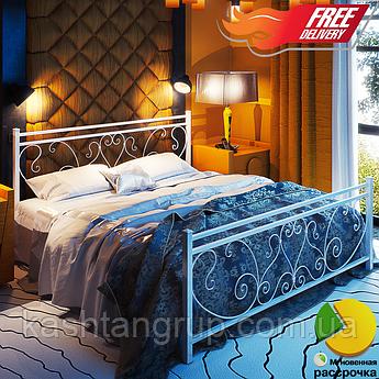 Металлическая кровать Монстера