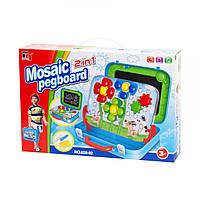 """Игровой набор """"Мозаика + доска"""" 628-82"""