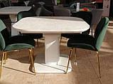 Мягкий стул M-32-3 изумруд велюр (бесплатная доставка), фото 10