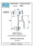 Кран дозатор для писсуара Remer Tempor TE856 (1/2)