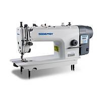 Gemsy GEM 8801E Прямострочная швейна машина для легких і середніх тканин з прямим приводом