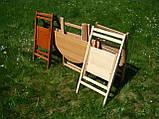 """Круглий стіл """"Компакт-раунд"""" (дерев'яний, розкладний, БУК), фото 4"""