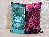 Подушка с пайетками  Код 10-4612