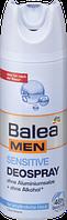 Balea MEN Sensitive Deospray - Мужской дезодорант для чувствительной кожи 200 мл