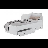 Кровать односпальная с ящиками для белья КАМА Ф 0413