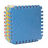Мягкий коврик-пазл для игры и массажа ножек, фото 4