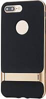 Чехол-накладка Rock TPU+PC Case Royce Series with Kickstand iPhone 7 Plus Champagne Gold