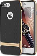 Чехол-накладка Rock TPU+PC Case Royce with stand series iPhone 7 Plus Champagne Gold