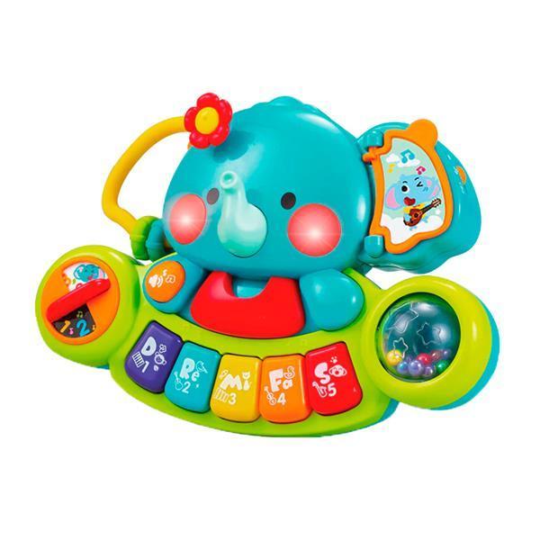 Музыкальная игрушка Hola Toys Пианино-слоник (3135)