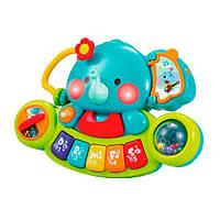 Музыкальная игрушка Hola Toys Пианино-слоник (3135), фото 1