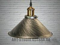Люстра-подвес светильник в стиле Loft 6855-260-BK-SV