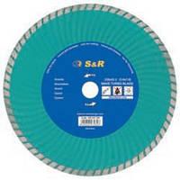 S&R 242243230 алмазный диск по граниту S&R COMFORT 230 мм
