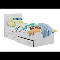 Кровать односпальная с ящиками для белья КАМА М 0404
