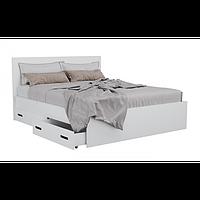 Кровать двуспальная с ящиками для белья КАМА М 0405
