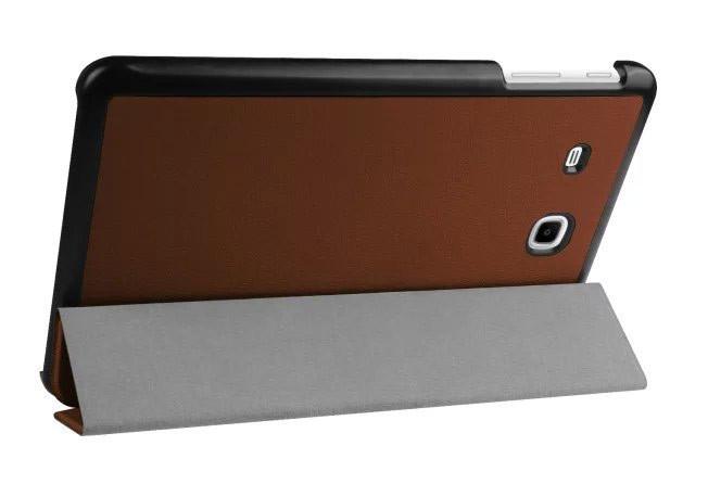 "Чехол для планшета Samsung Galaxy Tab E 9.6"" T560/T561 Slim Brown"
