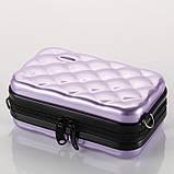 Стильний лавандовий кейс-сумка на кожен день Код 10-7479, фото 2