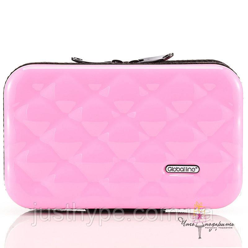 Стильний ніжно-рожевий кейс на кожен день Код 10-7487