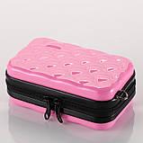 Стильний ніжно-рожевий кейс на кожен день Код 10-7487, фото 2