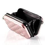 Стильний ніжно-рожевий кейс на кожен день Код 10-7487, фото 4