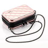 Стильний ніжно-рожевий кейс на кожен день Код 10-7487, фото 6