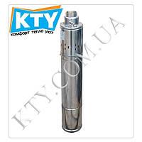 Скважинный насос шнековый Volks Pumpe 4QGD, 2.5-60-0.75, 0.75 кВт, кабель 15м. Глубинный насос