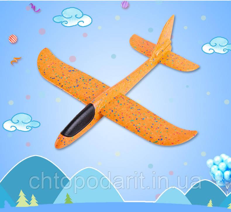 Планер метательный оранжевый Код 10-4214