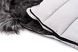Зимний конверт Bair Arctic с удлинением  серый, фото 10